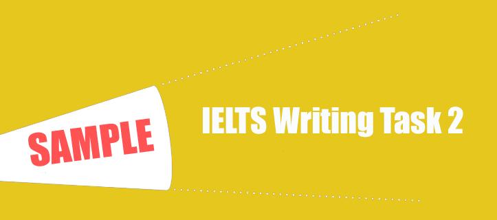 IELTS Writing Task 2 Sample 31 - IELTS Practice Online Band 9
